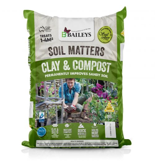 SOIL MATTERS CLAY & COMPOST image