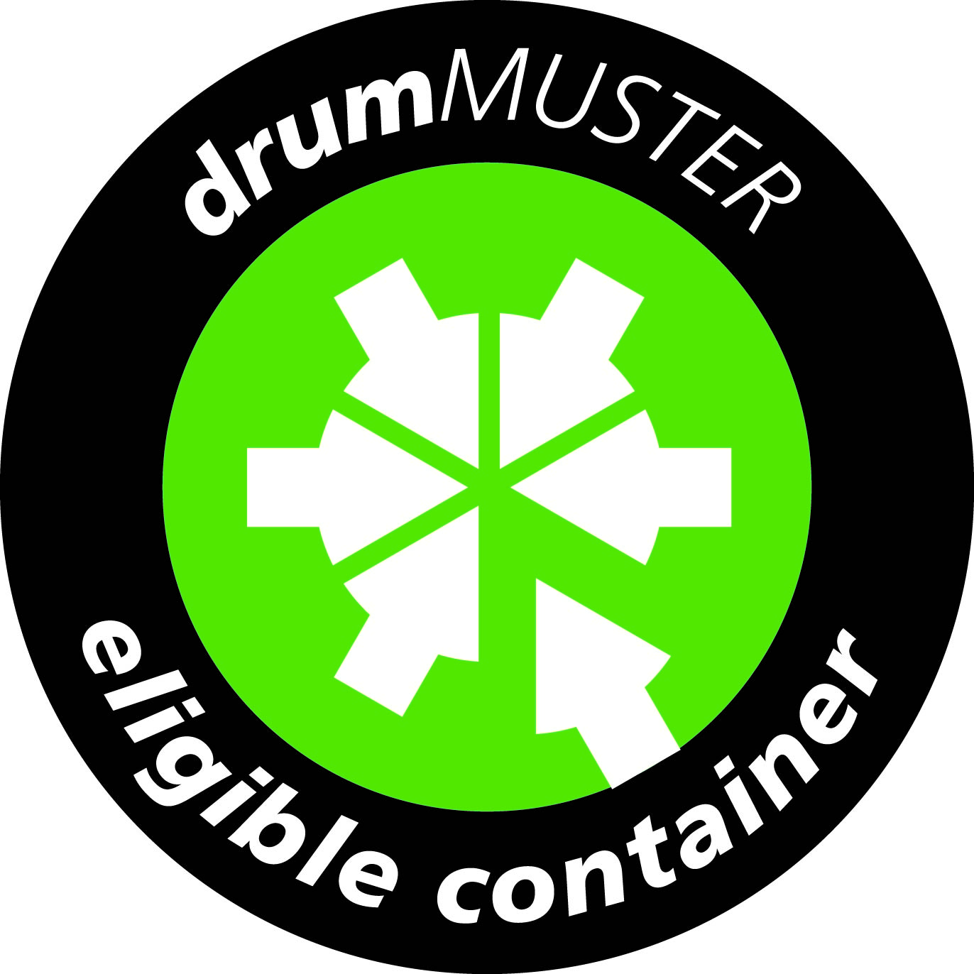 drumMuster Eligible Container Logo