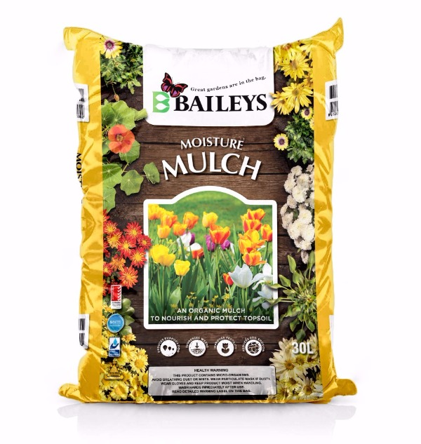 Bag of Baileys Fertlisers Moisture Mulch