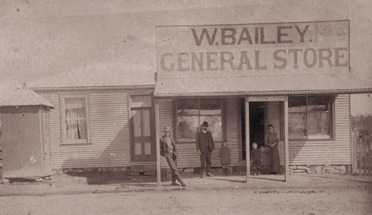 Historical W Bailey General Store